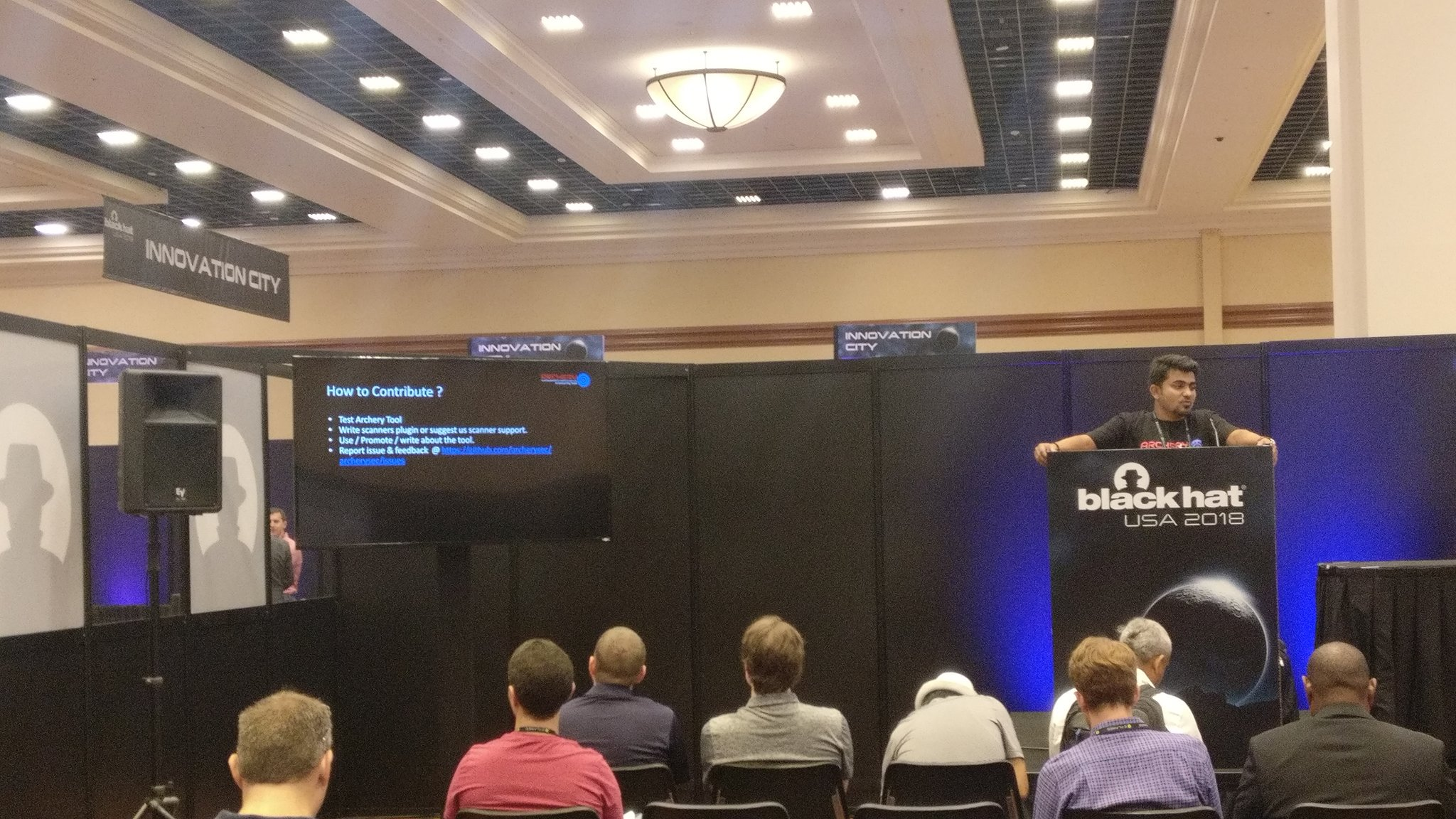 Black Hat Arsenal USA 2018